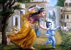 romapada swami explains why Krishna has a bluish complexion