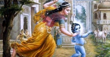 romapada swami explains why Krishna has a bluish complexion