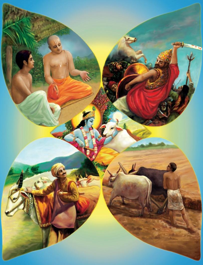 romapada swami on relationship between krishna and dharma