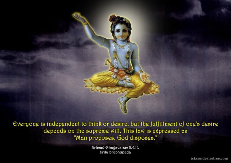 romapada swami on do I have free will?
