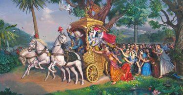 romapada swami on akrura position